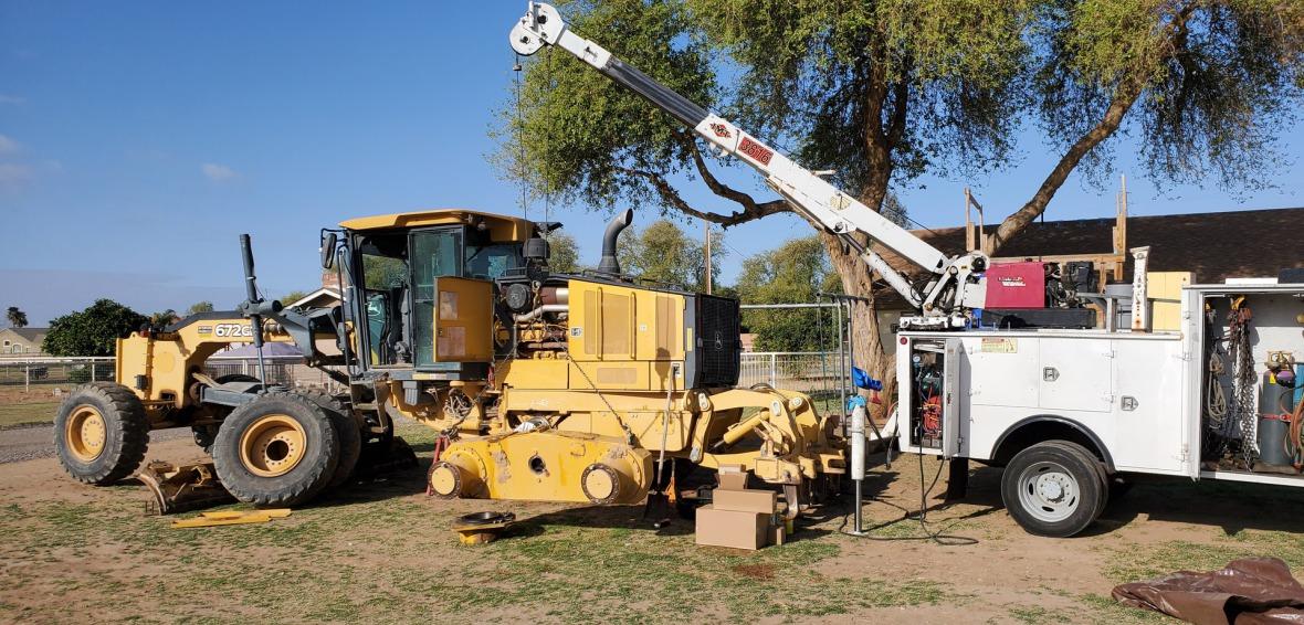 Heavy Equipment Maintenance : Superior heavy equipment repair llc service
